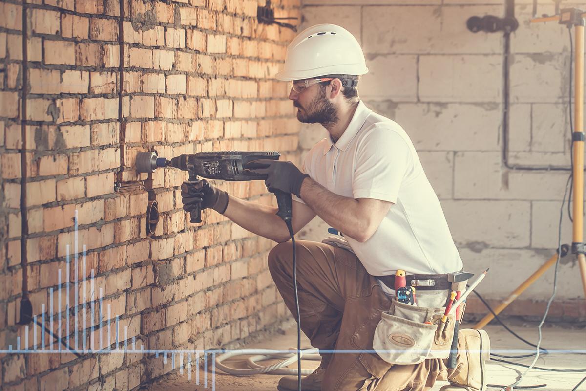 prace budowlane we wnętrzu